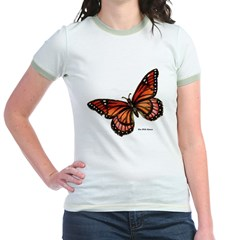 Orange Pink Butterfly (Front) T