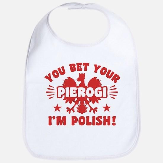 Funny Polish Pierogi Bib