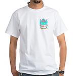 Schenman White T-Shirt