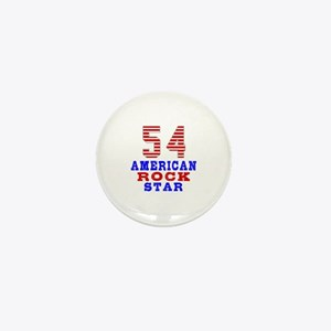54 American Rock Star Mini Button