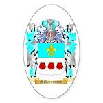Scheinmann Sticker (Oval)