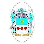 Scheinholz Sticker (Oval)
