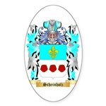 Scheinholz Sticker (Oval 10 pk)