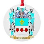 Scheinherz Round Ornament
