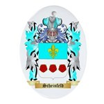 Scheinfeld Oval Ornament