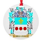 Scheinfein Round Ornament