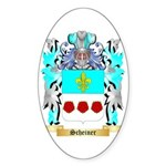 Scheiner Sticker (Oval)