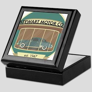 Stewart Motor Company Keepsake Box