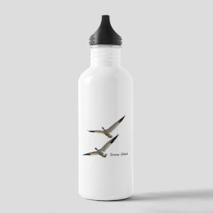 Snow Geese in Flight Water Bottle