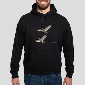 Snow Geese in Flight Hoodie