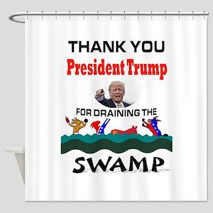 TRUMP THANKS Shower Curtain