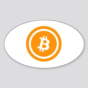 Bitcoin Logo Symbol Design Icon Sticker