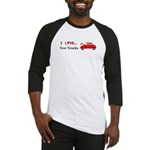 I Love Tow Trucks Baseball Jersey