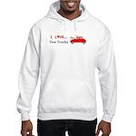 I Love Tow Trucks Hooded Sweatshirt