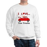 I Love Tow Trucks Sweatshirt
