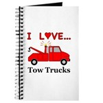 I Love Tow Trucks Journal