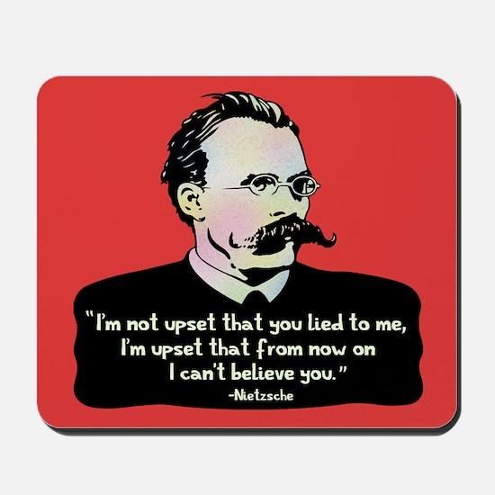 Nietzsche - Lies Mousepad