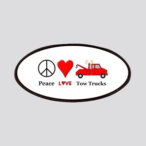 Peace Love Tow Trucks Patch