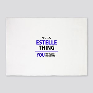 ESTELLE thing, you wouldn't underst 5'x7'Area Rug