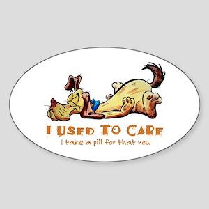 IUsedToCare Sticker