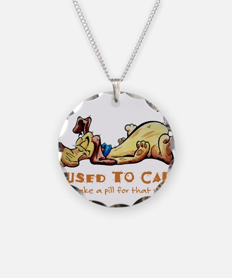 I Used to Care Necklace