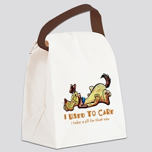 I Used to Care Canvas Lunch Bag
