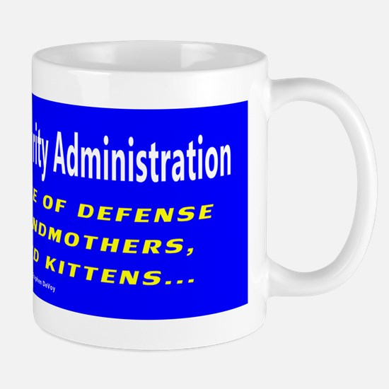 T.S.A. Front Line of Defense Mug