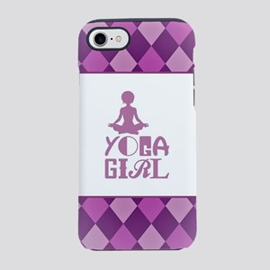 YOGA GIRL iPhone 8/7 Tough Case
