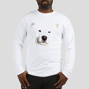 Samoyed Face Long Sleeve T-Shirt