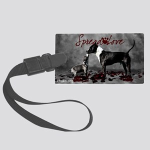 Spread Love Large Luggage Tag