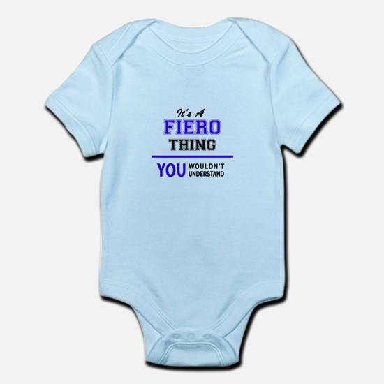 FIERO thing, you wouldn't understand! Body Suit