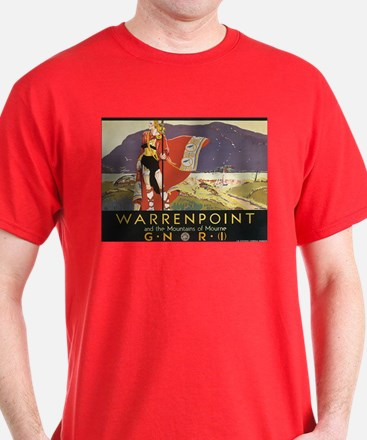 Vintage Warrenpoint Travel Po T-Shirt