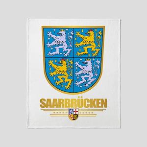 Saarbrucken Throw Blanket