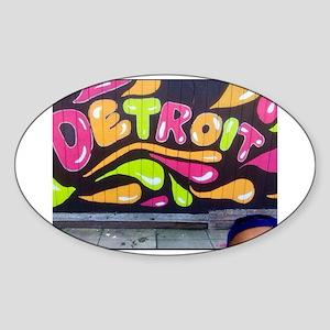 Detroit Bound Sticker