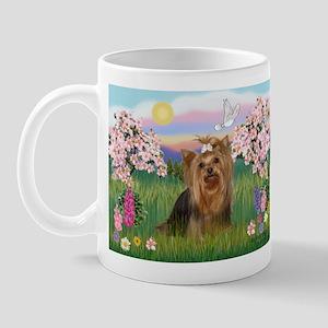 Blossoms & Yorkie 7 Mug