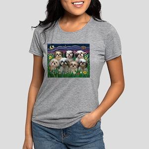 7 Shih Tzus in Moonligh T-Shirt