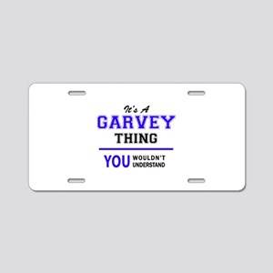 GARVEY thing, you wouldn't Aluminum License Plate