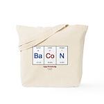 GrillJunkie RWB Periodic Bacon Tote Bag