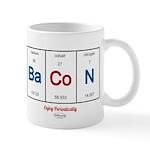GrillJunkie RWB Periodic Bacon Mugs
