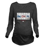 GrillJunkie RWB Peri Long Sleeve Maternity T-Shirt