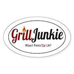 GrillJunkie Logo Sticker