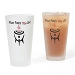 GrillJunkie What Fires You UP? Drinking Glass