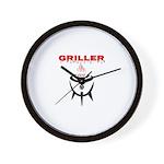 GRILLER by GrillJunkie Wall Clock