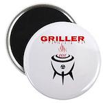 GRILLER by GrillJunkie Magnets