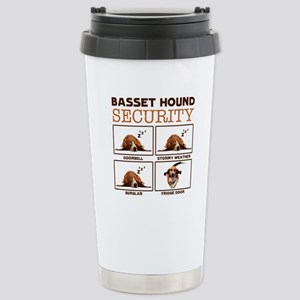 Basset Hound Shirt - Basset Hound Security Tee Mug