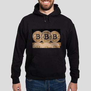 Bitcoin Logo Symbol Design Icon Sweatshirt