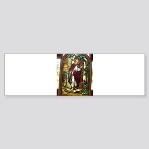 church window stained glass Bumper Sticker