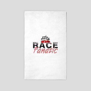 Auto Race Fanatic Area Rug