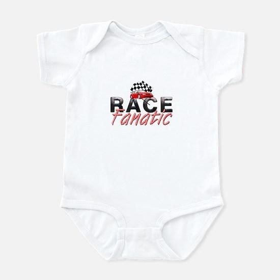 Auto Race Fanatic Infant Bodysuit