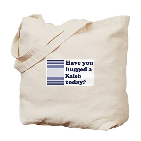 Hugged Kaleb Tote Bag
